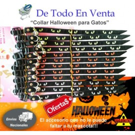 Collar Halloween para Gatos
