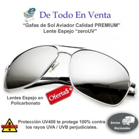 Gafas de Sol zeroUV Premium Lente Espejo