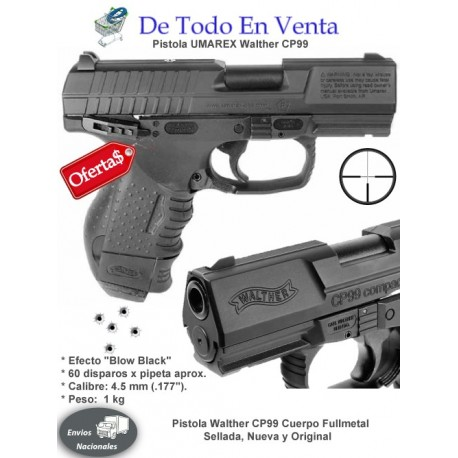 Pistola de Aire Umarex Walther CP99