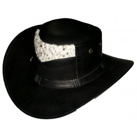 Sombrero Ribete Negro con Blanco Ref. 2