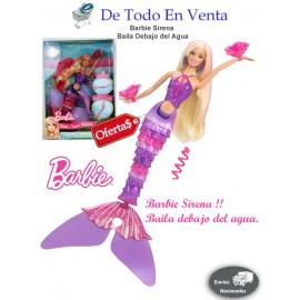 Barbie Sirena Baila debajo del Mar