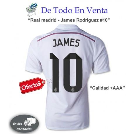 Real Madrid James Rodriguez 10 Calidad +AAA