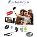 Monopod + Bluetooth - Selfie Stick (Monopod + Bluetooth + Base Cel o Camara)