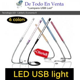 Lampara USB Luz LED para PC