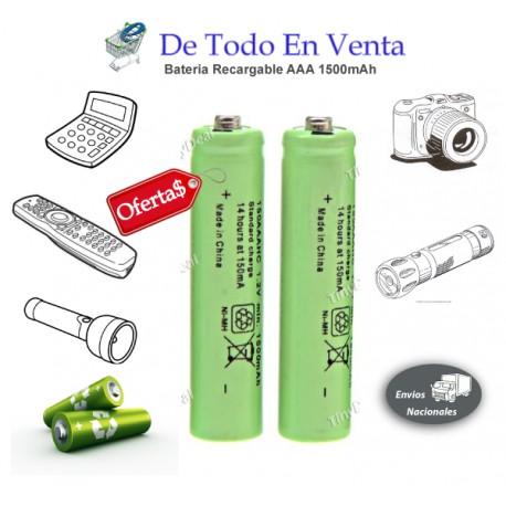 Bateria Recargable UltraFire AAA x 2 unid