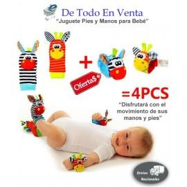Buscadores Juguete de Pies y Manos para Bebé