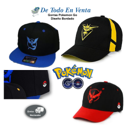 Gorra Pokemon Go Bordada