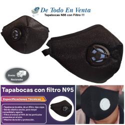 Tapabocas N95 con Filtro