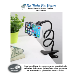 Brazo Soporte Holder Flexible para Celular